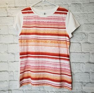 TOMMY HILFIGER Watercolor Striped Tee